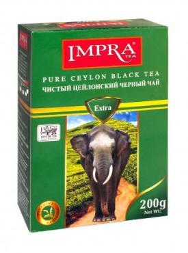 Чай черный Impra Extra, 200 гр., картон