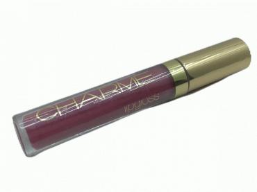 Блеск для губ питательный CH/LG-08 (Чайная роза), Charme Brilliant Shine, 6 мл., пластиковая упаковка