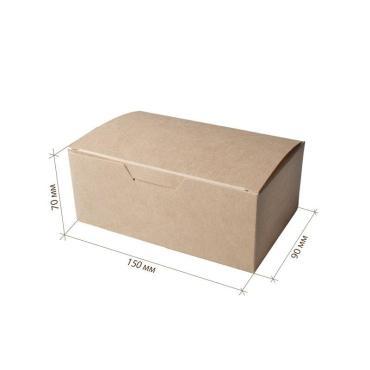 Упаковка для наггетсов, куриных крыльев, картофеля фри, большая