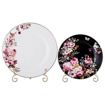 Набор тарелок, 12 предметов на 6 персон, диаметр 19/25 см., Lefard Беатриче