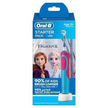 Электрическая зубная щетка Oral-B Frozen2 D12.523.1K, картон