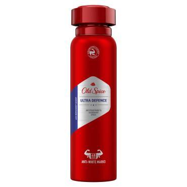 Дезодорант-антиперспирант Old Spice Ultra Defence, 150 мл., аэрозольная упаковка