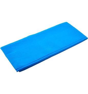Скатерть 110х140 см., синяя, Спанбонд, Мистерия, 1 л., флоу-пак