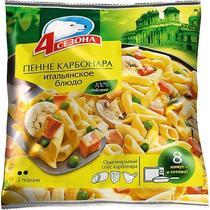 Пенне 4 сезона карбонара Итальянское блюдо