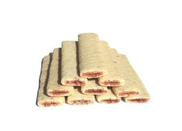 Батончики хрустящие с шоколадной начинкой Махеевъ, 3 кг., картон