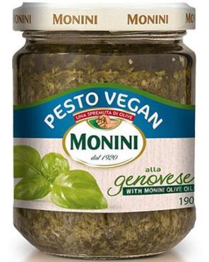 Соус Monini VEGAN Песто, 190 гр., стекло