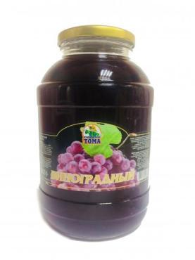 Сок виноград, Дядя Тома, 2 л., стекло