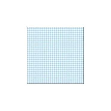 Салфетки 3 слоя бумажные в ассортименте 33х33 см., Мистерия Голубая скатерть, пластиковый пакет
