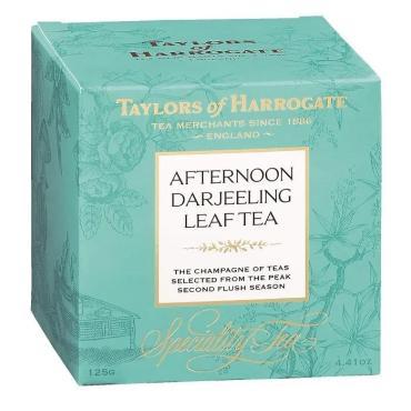 Чай черный листовой Taylors Дарджилинг-Полдник, 125 гр., картон