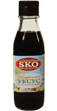 Уксус SKO натуральный бальзамический, 250 мл., стекло