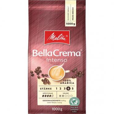Кофе нат. жар. Melitta БеллаКрема Интенсо (8) в зернах, 1000 гр., вакуум