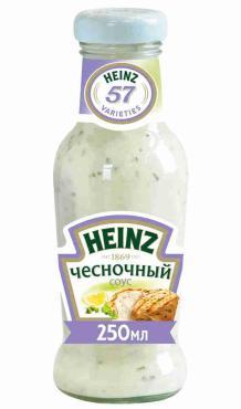Соус Heinz чесночный, 250 гр., стекло