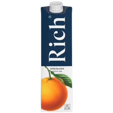 Сок Rich Апельсин, 1 л., картон