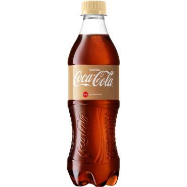 Напиток Coca-Cola газированный Vanilla , 500 мл, ПЭТ
