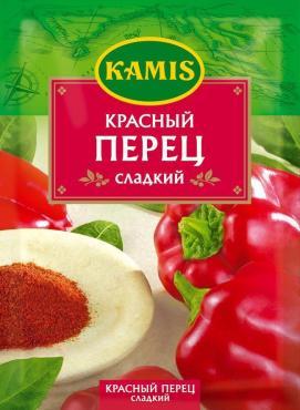 Приправа Kamis Красный перец сладкий, 20 гр., сашет