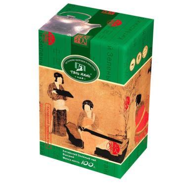 Чай Тянь Жень высший зеленый, 100 гр., картон