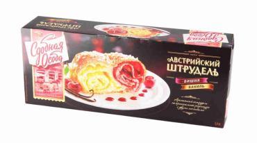 Австрийский штрудель Сдобная Особа Вишня-ваниль