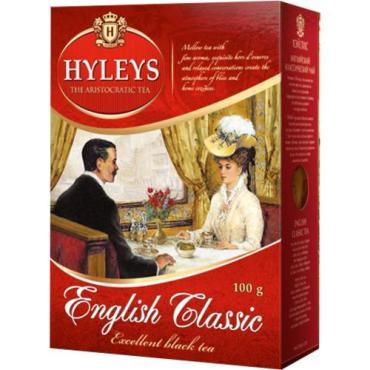 Чай черный Hyleys Английский Классический особокрупнолистовой