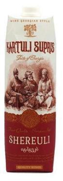 Вино Kartuli Supris Купажное красное столовое красное полусладкое