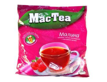 Чайный напиток MacTea с малиной