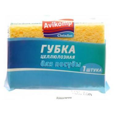 Губка для посуды Avikomp Clein Set Целлюлозная