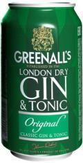 Джин-Тоник Greenall's Gin&Tonic Original 7%
