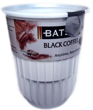 Кофе BATSAM растворимый черный с сахаром