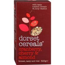 Мюсли Dorset Cereals клюква, вишня и миндаль