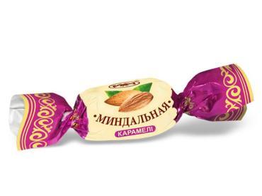 Карамель Рахат Миндальная с ореховой начинкой