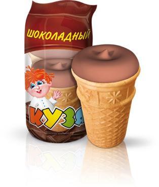 Мороженое Кузя шоколадное
