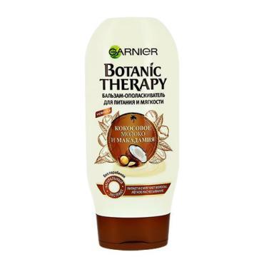 Бальзам для волос Garnier Botanic Therapy питание и мягкость кокосовое молоко и макадамия