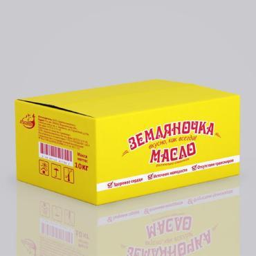 Масло Земляночка растительно-сливочное 82,5%