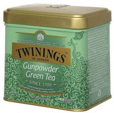 Чай Twinings Зеленый Ганпаудер
