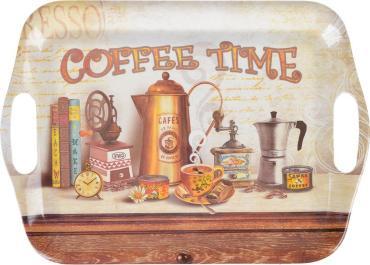 Поднос, коричневый Vetta Кофе 240 гр.