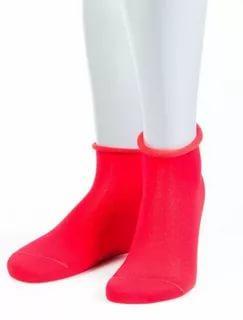 Носки женские 15D22 красные рзмер 26