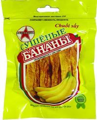 Сухофрукты бананы сушеные Вьетконг, 100 гр., дой-пак