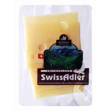 Сыр Alpino СвиссАдлер 45% нарезка, Россия