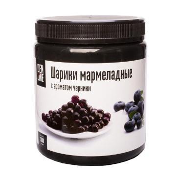 Шарики мармеладные Denline с ароматом Черники (10 мм)