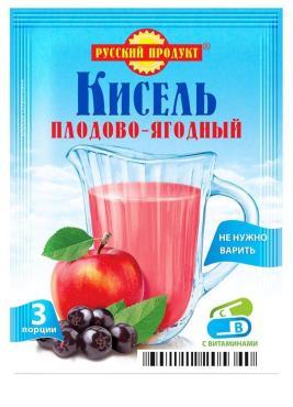 """Кисель""""Плодово-Ягодный"""" насыпной 18х90гр (Русский Продукт)"""