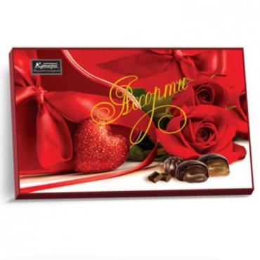 Набор конфет Кутьюре Роза Ассорти красная