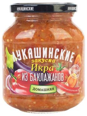 Икра Лукашинские Из баклажанов домашняя Обжаренная кусочками