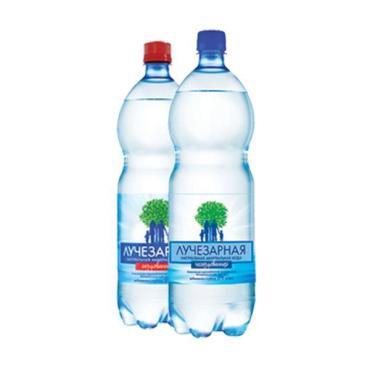 Вода минеральная Лучезарная природная питьевая негазированная 1,5 л.