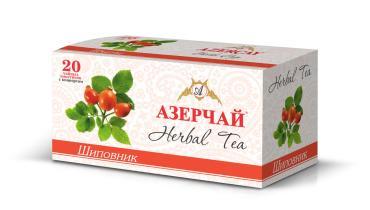 Чай травяной Azercay tea С шиповником 20 пакетов 40 гр
