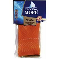 Рыбные консервы Русское море семга подкопченная филе, кусок