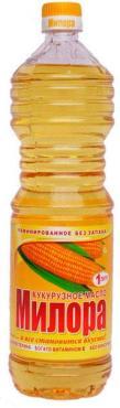 Масло Милора растительное кукурузное
