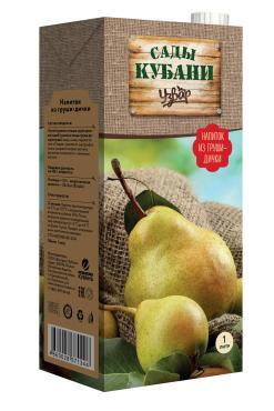 Напиток Сады Кубани Узвар из груши-дички