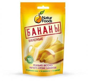 Бананы Naturfoods вяленые