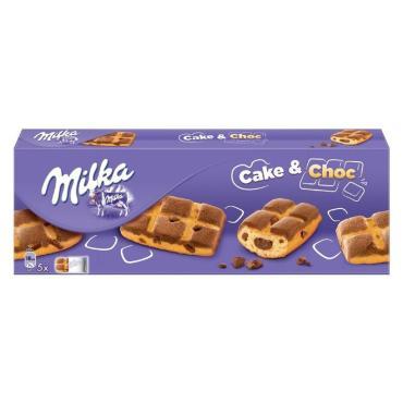 Бисквит Milka Cake & Choc, 175 гр., картонная коробка