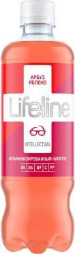 Витаминизированный напиток арбуз яблоко Lifeline Intellectual, 500 мл., ПЭТ