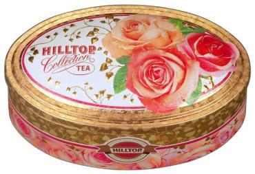 Чай Hilltop Овал Нежные розы традиция Цейлона